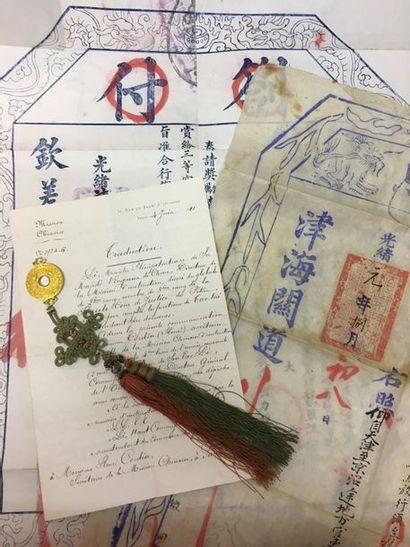 Chine - Ordre du Pao Hsing, médaille de IIIe...
