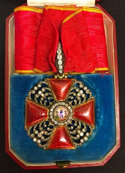 Russie - Ordre de Sainte-Anne, fondé en 1735,...