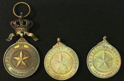 Belgique - Ordre de l'Étoile africaine, médaille...