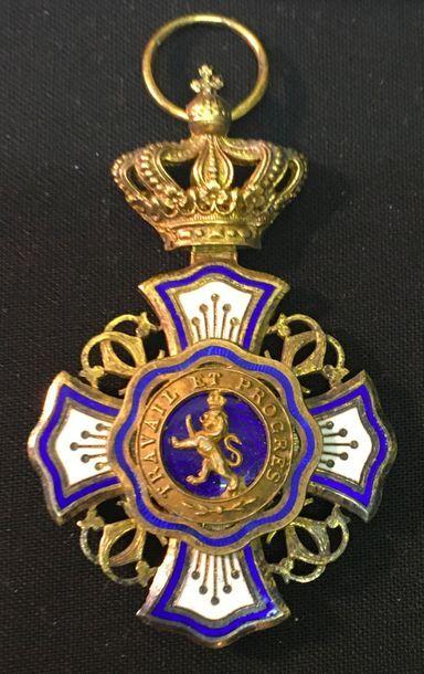 Belgique - Ordre du Lion, fondé en 1891,...
