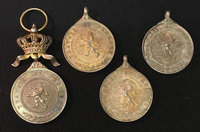 Belgique - Ordre du Lion, médaille de l'ordre...