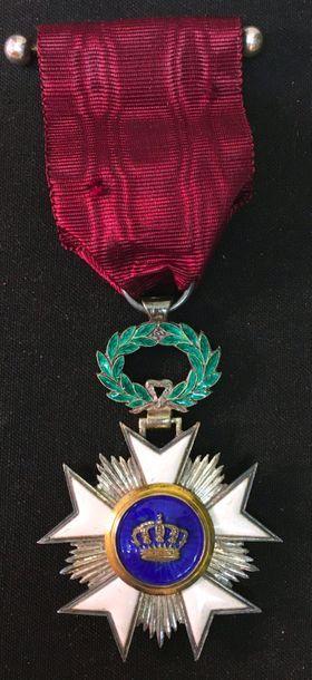 Ordre de la Couronne, étoile de chevalier...