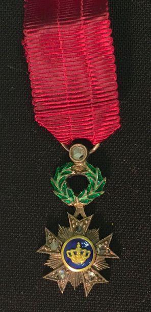 Belgique - Ordre de la Couronne, miniature...