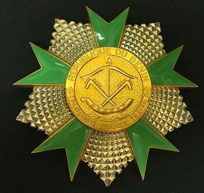 Bénin - Ordre national du Bénin, fondé en...