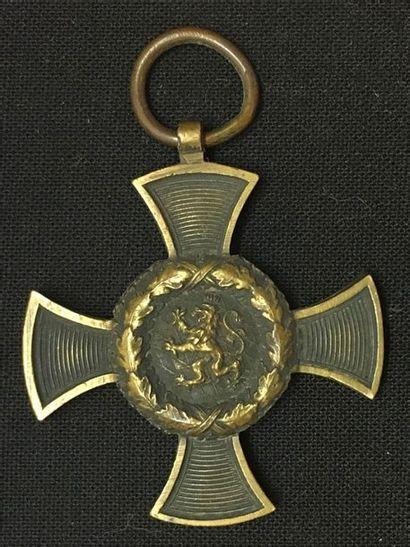 Allemagne, royaume de Bavière - Croix commémorative...