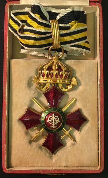 Bulgarie - Ordre du Mérite militaire, fondé...