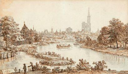 ÉCOLE de l'EST de la FRANCE du XVIIIe siècle