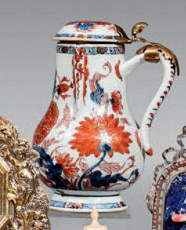 Verseuse couverte en porcelaine de Chine...