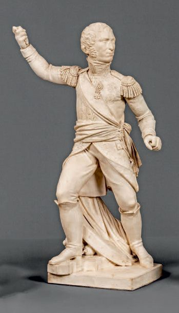 Statuette représentant probablement le maréchal...