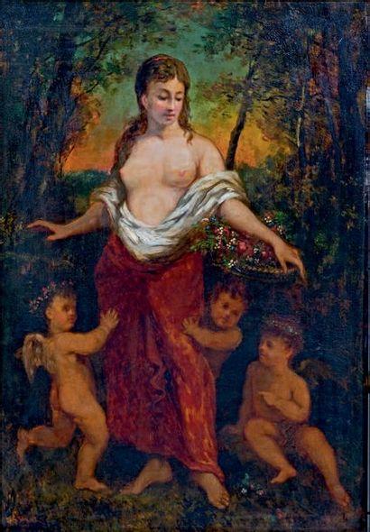 Narcisse DIAZ de la PEÑA (1807-1876)