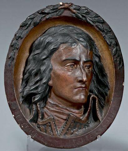 d'après DAVID d'ANGERS Le Général Bonaparte durant la première compagne d'Italie...