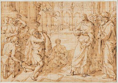 Attribué à Pieter VAN LINT (1609-1690)