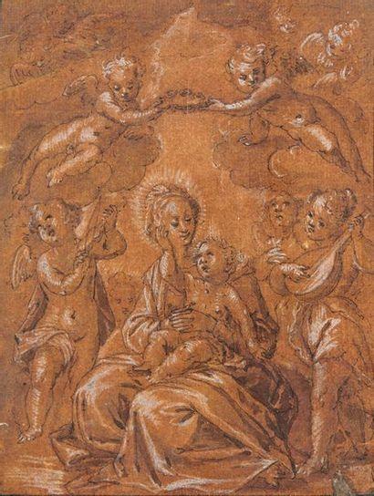 Attribué à Francesco VANNI (1563-1610)