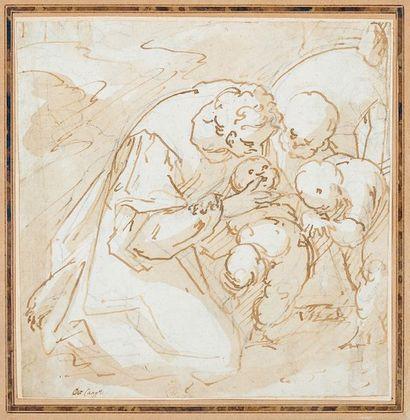 Attribué à Luca CAMBIASO (1527-1587)
