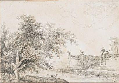 Attribué à l'Abbé de SAINT-NON (1727-1791)