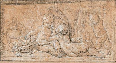 ÉCOLE FRANÇAISE du XVIIIe siècle, entourage de CLODION