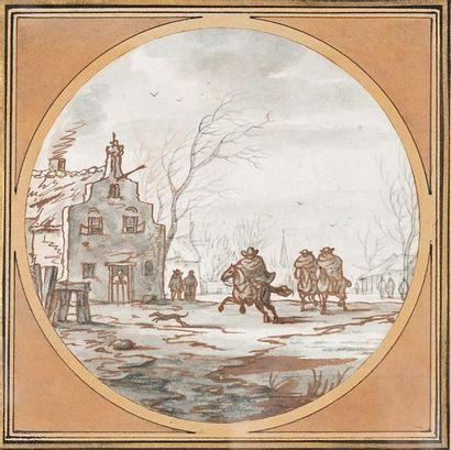 Attribué à Aarnont Ter HIMPEL (né en 1643)