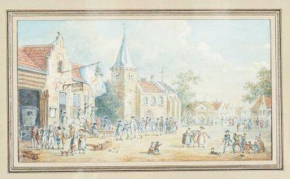 Ecole Flamande de la fin du XVIIIe siècle