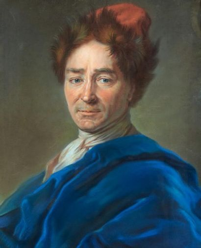 ÉCOLE FRANÇAISE du XIXe siècle, d'après Maurice QUENTIN de LA TOUR (1704-1788)