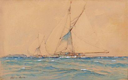 Paul Emmanuel DURAND COUPPEL de SAINT-FRONT dit MARIN MARIE (1901-1987)