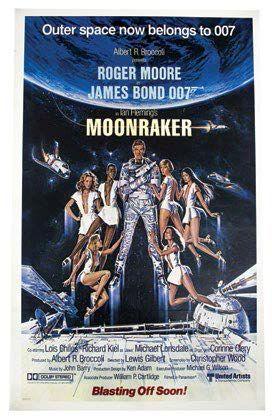 James BOND 007 MOONRAKER (1979) Lot comprenant:...