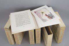 Salvador DALI -DANTE La Divine Comédie Ensemble de six volumes in-4° en feuilles,...
