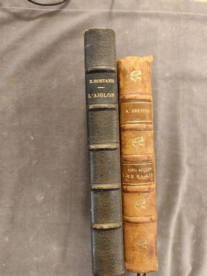 LITTÉRATURE et divers. XXe siècle 11 volumes, soit 3 reliés et 8 brochés. DREYFUS...