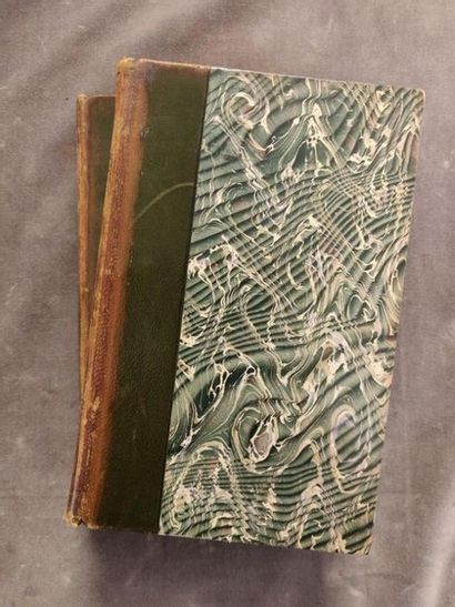 LOUYS (Pierre) Set of 5 volumes in-12 and in-18, in used bindings. OF WHICH 4 WITH...