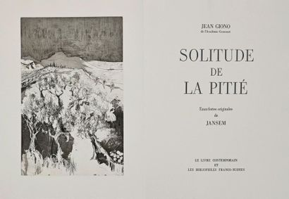 Jean JANSEM / Jean GIONO