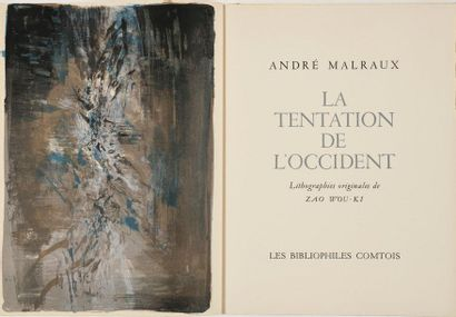 ZAO WOU-KI / André MALRAUX