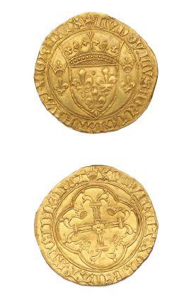 LOUIS XI (1461-1483) Écu d'or à la couronne....