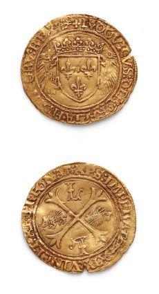 LOUIS XII (1498-1514) Écu d'or au porc-épic....