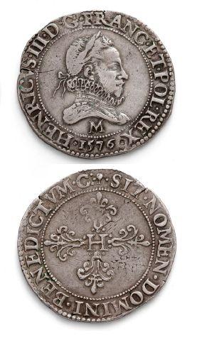Franc au col fraisé. 1576. Toulouse. D. 1130A....