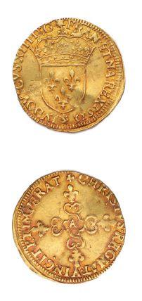 LOUIS XIII (1610-1643) Écu d'or au soleil....