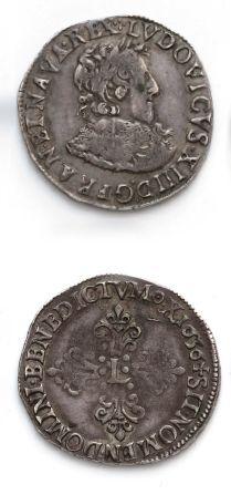 Demi franc. 1636. Amiens. D. 1320 var. T...