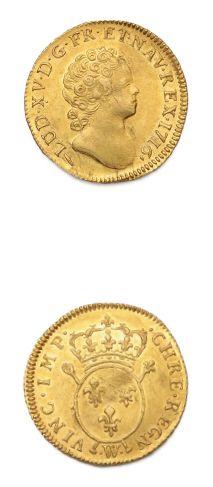 LOUIS XV (1715-1774) Louis d'or aux insignes,...