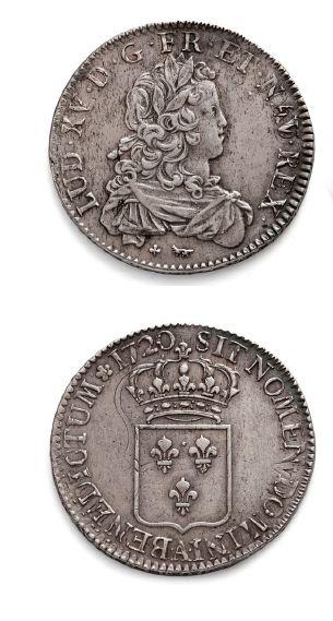 Écu de France. 1720. Paris. Réf. D. 1665....