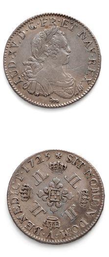 Demi écu aux huit L. 1725. Paris. D. 1671....