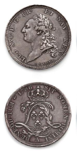 Écu de Calonne. 1786. Paris (5 viroles)....