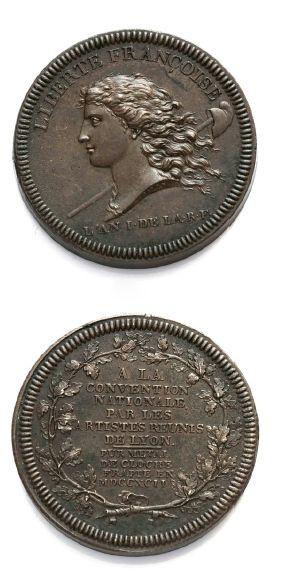Essai de Galle à la Liberté. 1792. VG. 338....