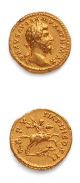 LUCIUS VÉRUS (161-169) Auréus. Rome (165)....