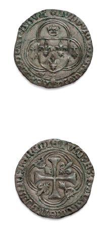 CHARLES VIII: Douzain de Bretagne. Karolus....
