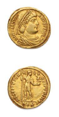 VALENTINIEN Ier (364-375) Solidus. Milan...