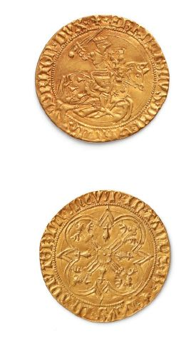 BRETAGNE: François II (1458-1488) Cavalier...