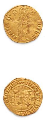 Florin d'or. D. 1673. TB à TTB.