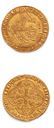FLANDRE: Louis II de Male (1346-1384) Franc...