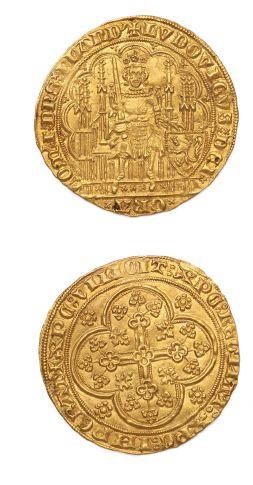 Écu d'or. B. 2226. Fr. 163. Superbe.