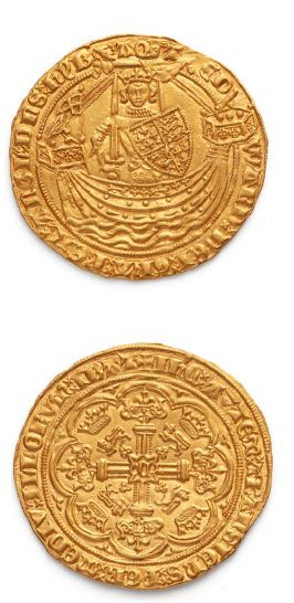 GRANDE-BRETAGNE Edouard III (1327-1377) Noble...