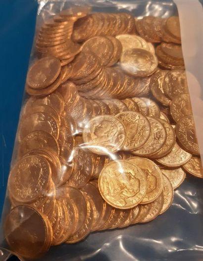 Suisse: 20 francs type Vreneli 126 exemplaires....