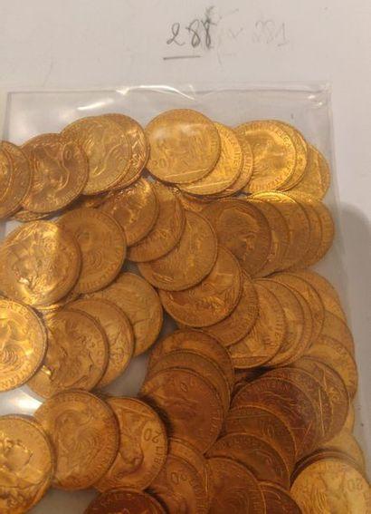 20 francs IIIème République (type Marianne)...